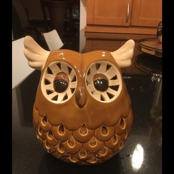 Owl Votive Holder